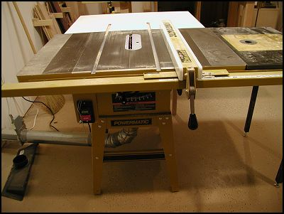 Sawdust and Shavings - Powermatic 64A Table Saw Review